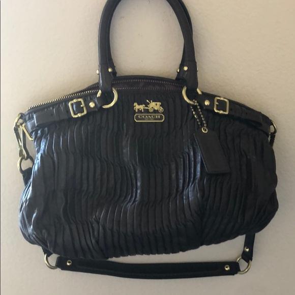Coach Handbags - Chocolate Brown Coach Purse